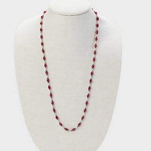 J. Jill - Cabernet Wrap Bracelet/ Necklace NWT